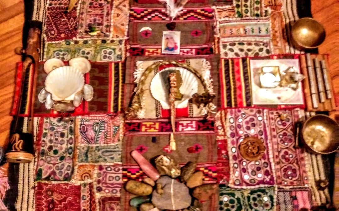 Shamanism without borders tending session for your local bio-region.